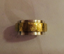 Textured chunky spinner ring