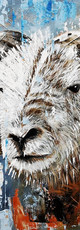 Ben Goymour Herdwick sheep oil painting