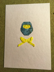 Origami Baby card