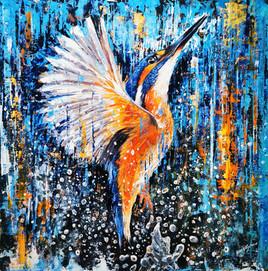 Ben Goymour - Kingfisher - animal artwork