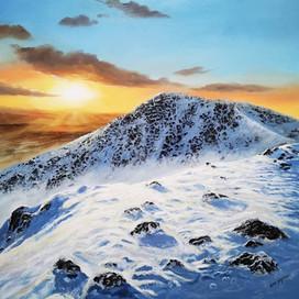 Ben Goymour - Lake district oil painting