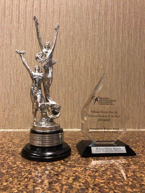 NSDA 2019 Trophies