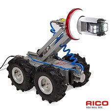 Rørinspeksjons traktor