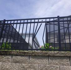 Damaged Fence