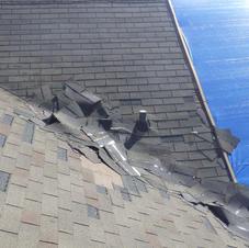 Asphalt Shingle Wind Damage