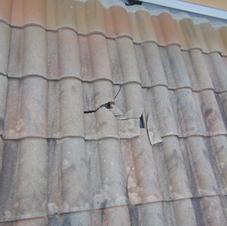 Broken Concrete Tile
