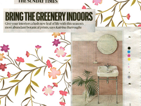Sunday Times Homes Says.....