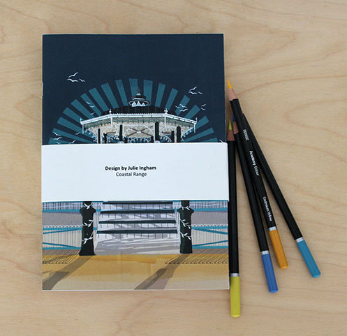 Brighton Coastal A5 Notebook set of 4