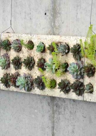 Urban Farm Girls Designer Garden Pozzola Planters - Vertical Gardens - Handmade in San Fra