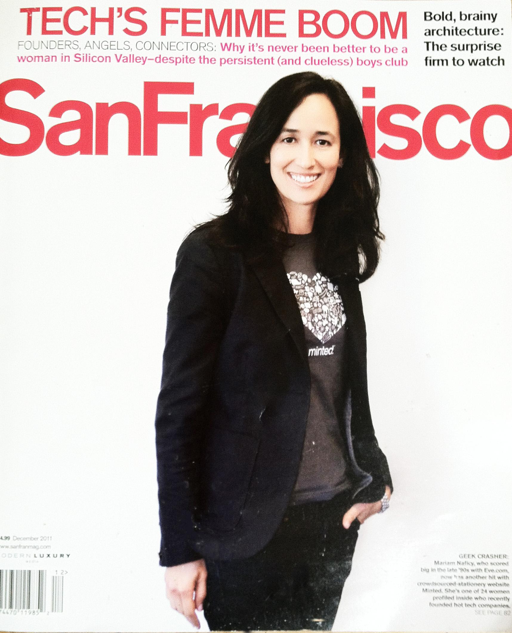 San Francisco Magazine Tech's Femme
