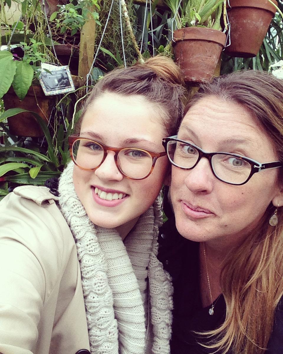 Tina and Maddie