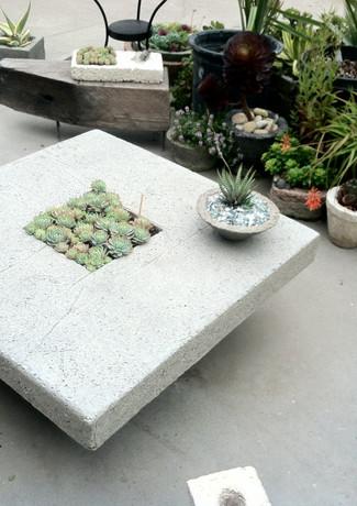 Urban Farm Girls Designer Garden Furniture - Handmade From Pozzola in San Francisco.JPG.JP