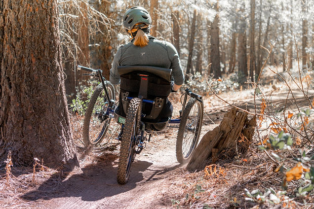 Oregon Adaptive Sports  Adaptive Mountain Biker