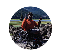 Evita Rush - Grit wheelchair
