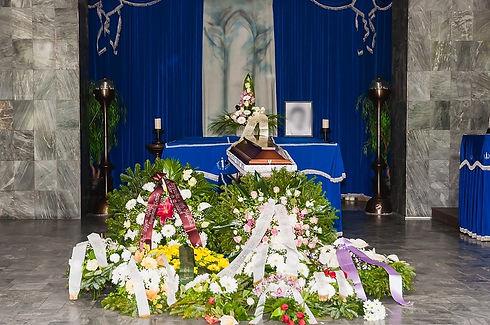 Koporsós temetés, fiumei úti temető