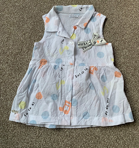 Baby Girl Cotton sleeveless Cami Top up to 12m