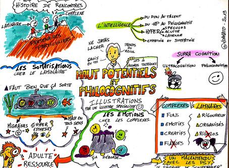 Du Haut potentiel à la philo-cognition... Retour sur la conférence de Bron (69) du samedi 9 février