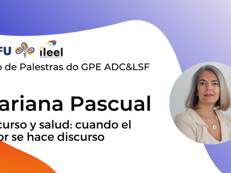 Segunda palestra do Ciclo de Palestras do GPE ADC&LSF