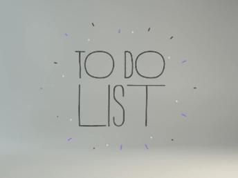 Ebbene, finalmente ecco la lista (non definitiva) dei miei buoni propositi