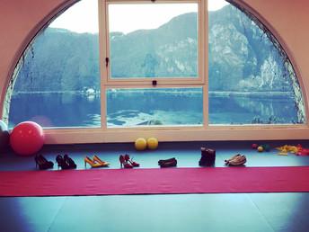 Pilates sui tacchi...piacevoli conferme!