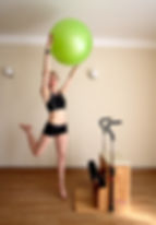 Pilates with Fitball