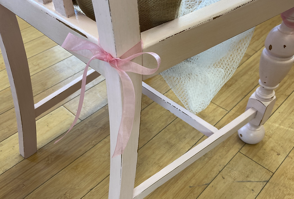 Baby GIRL Chair Basket