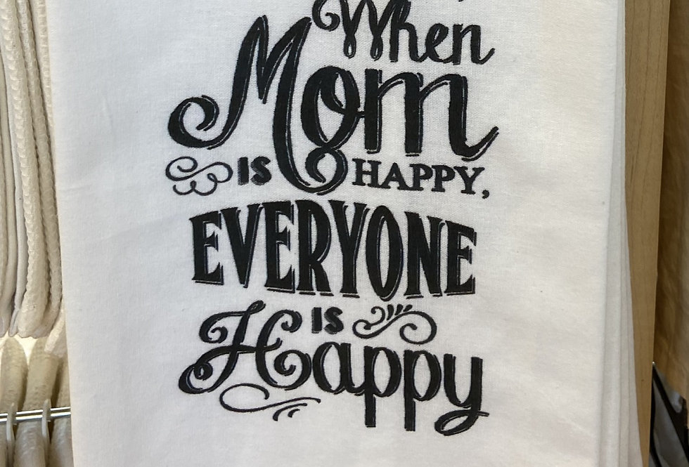 When Mom is Happy...