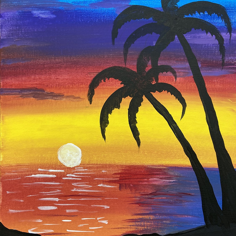 July Paradise Painting with Shawnee (1)