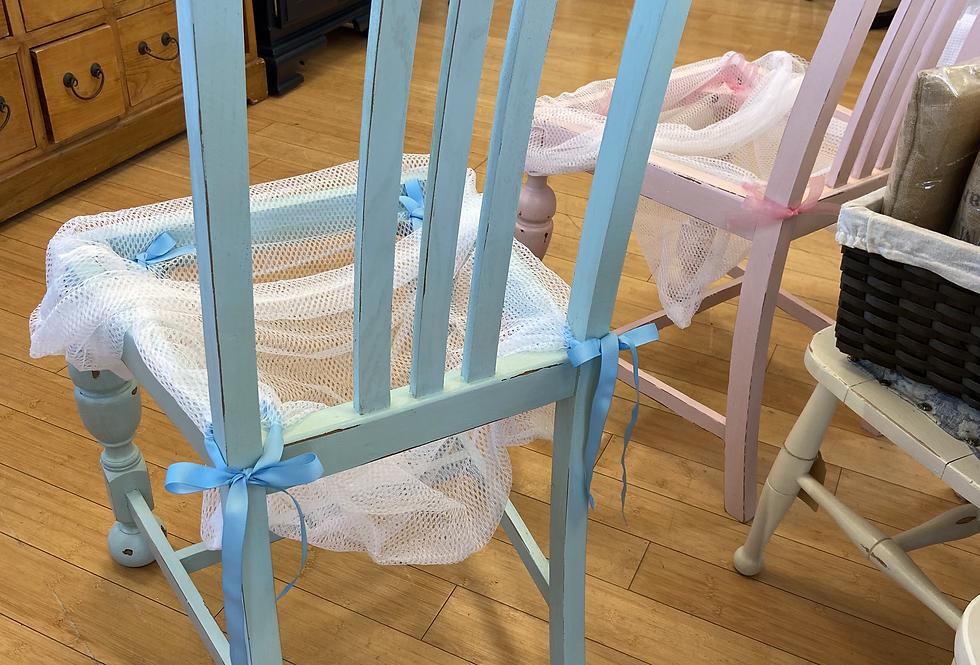 Baby BOY Chair Basket