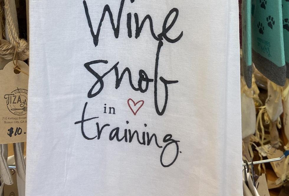 Wine Snob In Training
