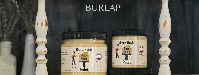 Pure Home Burlap