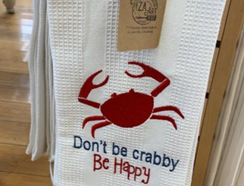 Don't be crabby Be Happy