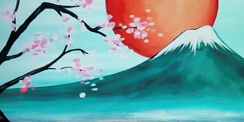 Fuji Landscape - Painting with Shawnee