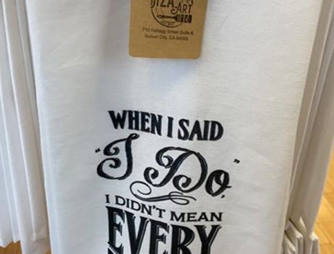 Message towels