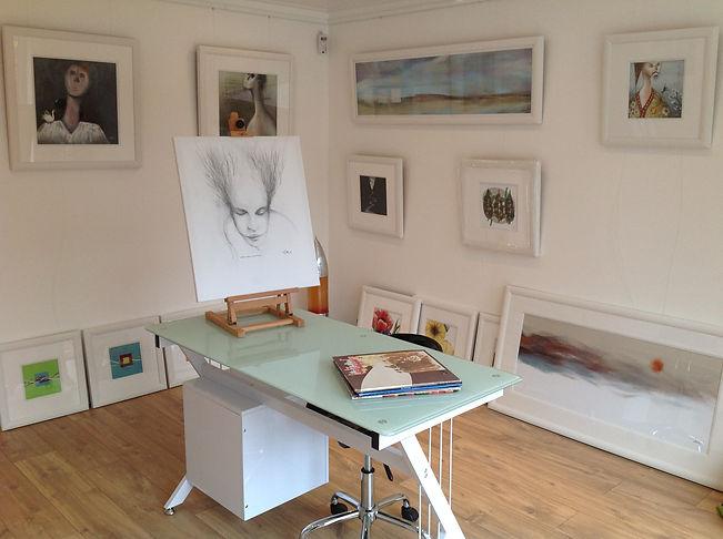 inside my White Swan Gallery