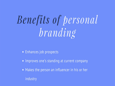 How To Start Branding Yourself Right After College