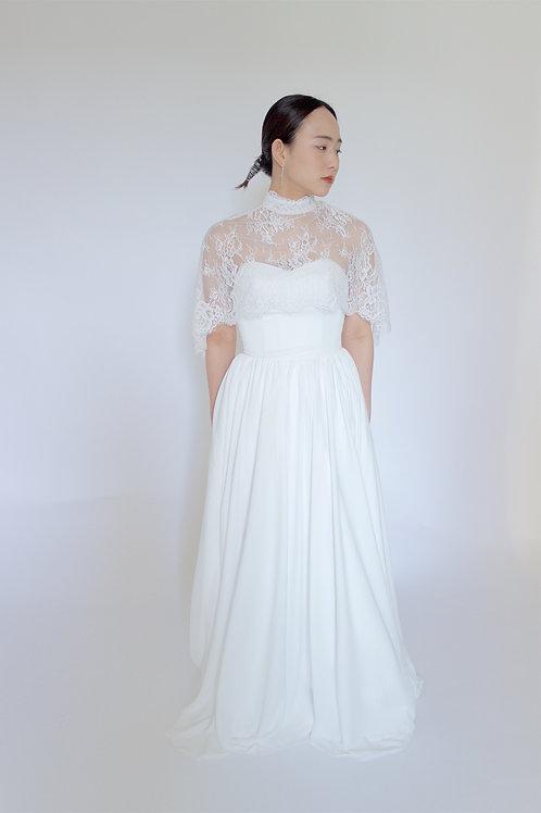 ケープボレロスレンダードレス