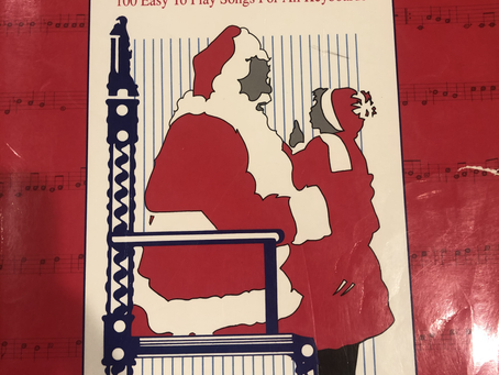 An EZ Play Christmas Book, A Soap Opera Theme Song and the formation of Musical Influence.