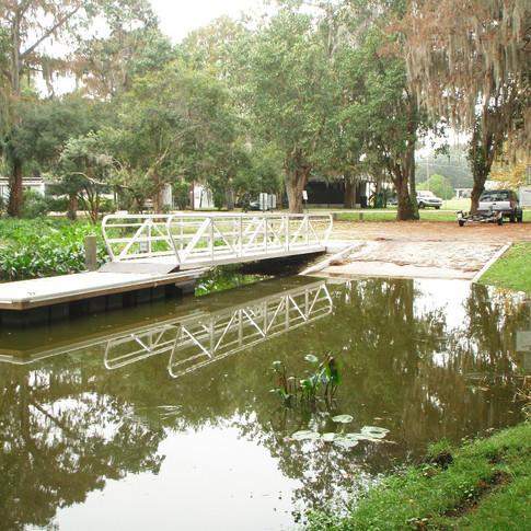 Boat Ramp ~ Floating Dock ~Gangway