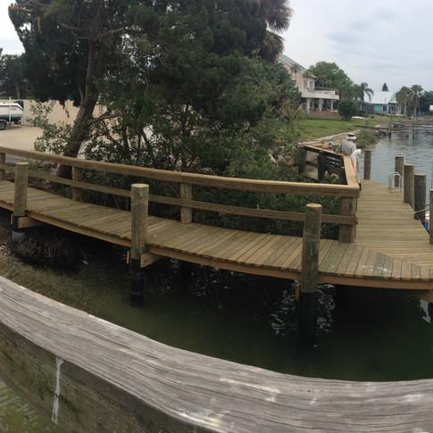 Bouchelle Island Dock