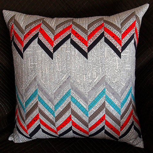 Split Chevron Cushion