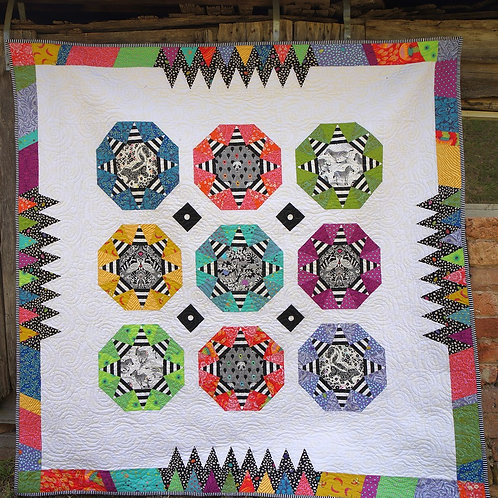 Seventy Two Quilt Pattern and Template