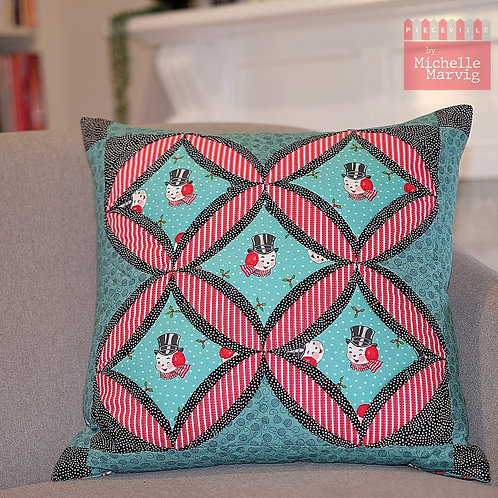 Cathedral Cushion Pattern