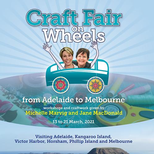 Craft Fair on Wheels Brochure