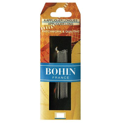 Bohin Applique Long Needles Size 10