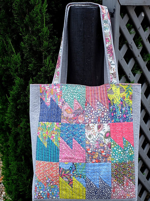 SSS Tote Bag Printed Pattern