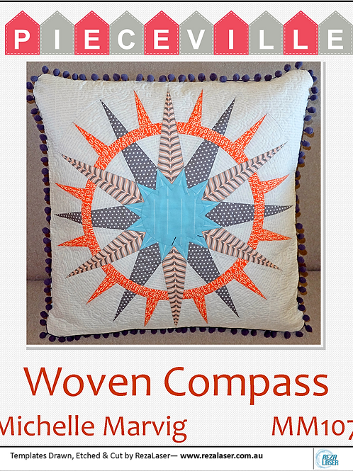 MM107 Woven Compass Template Set