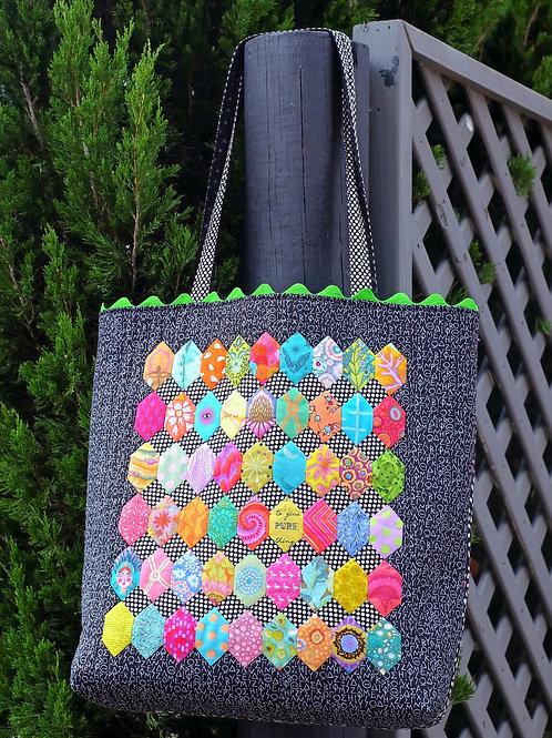 Sweet as Honeycomb Bag Pattern