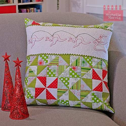 Booming Christmas Cushion