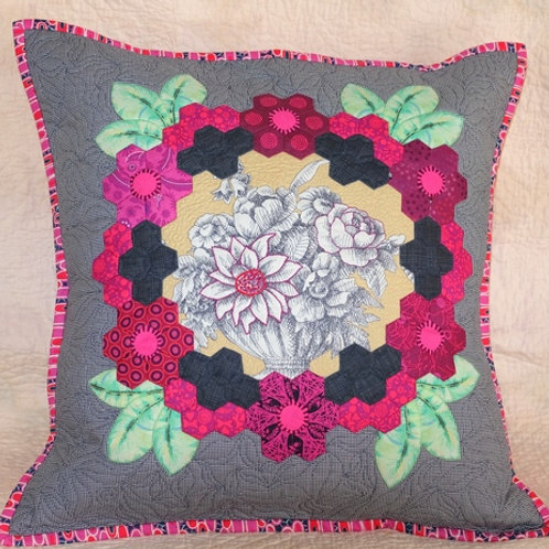 Coustellet Cushion Pattern, Panel and Background